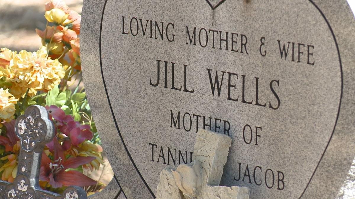 Jill Wells was buried in the Woodland Park Cemetery. Photo by Anna Hewson, 9News