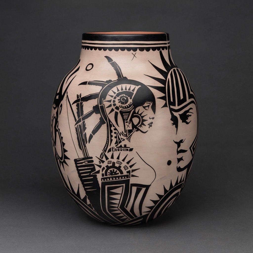 Revolt 1680/2180 Traditional Storage Jar