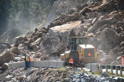 Massive rockfall shuts down Colorado highway