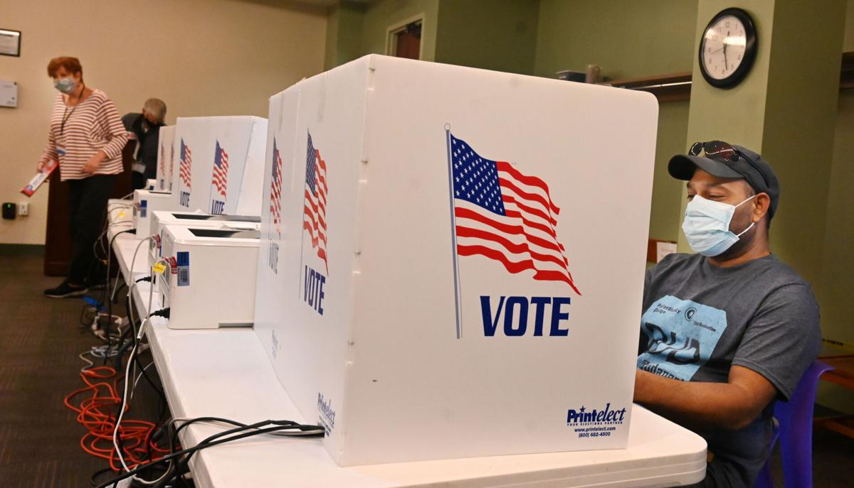 Early in-person voting starts