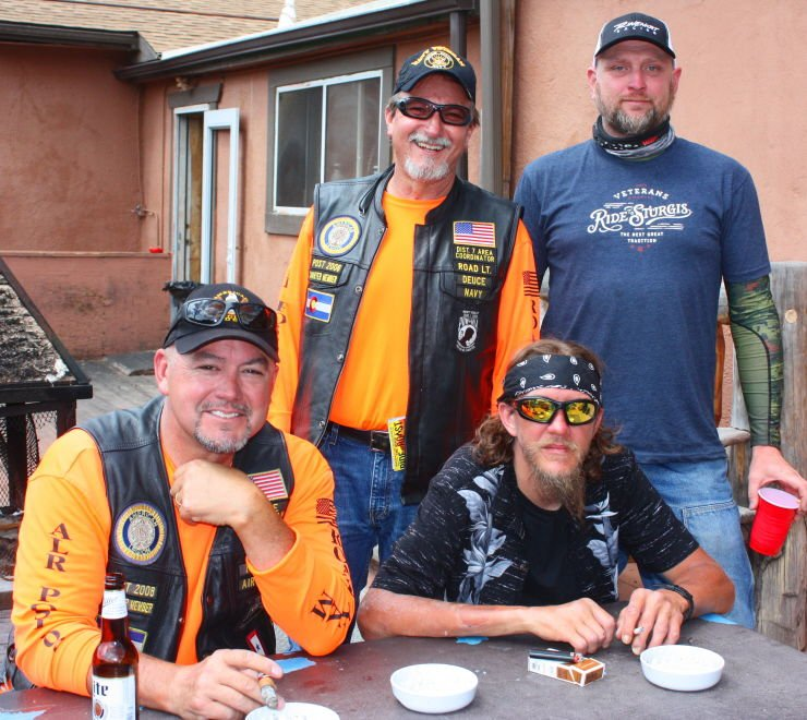 Veterans charity ride helps link veterans with life-improving resources
