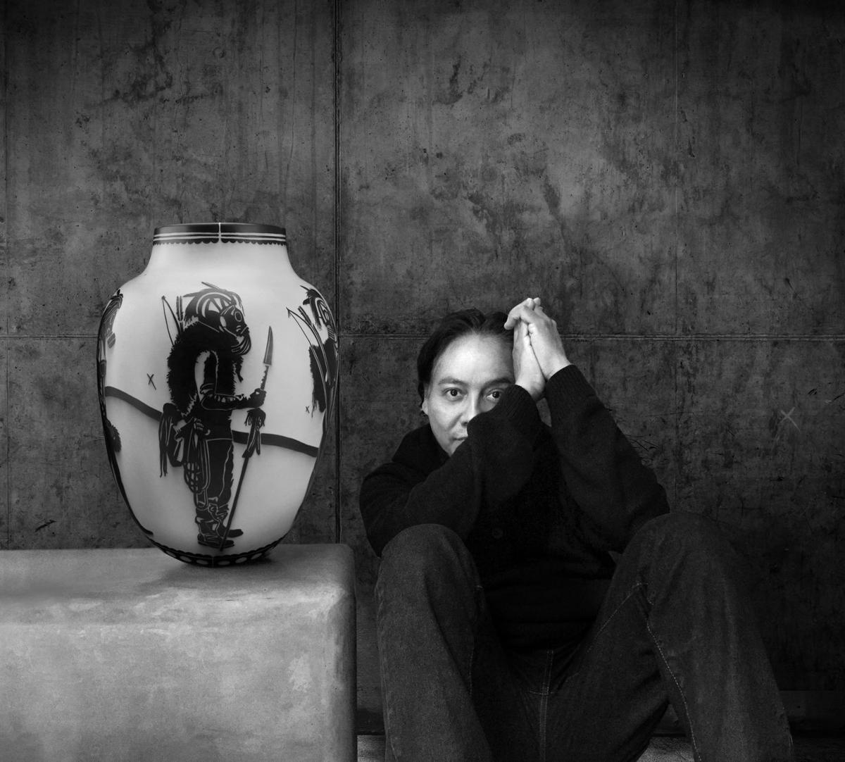 Virgil Ortiz self-portrait