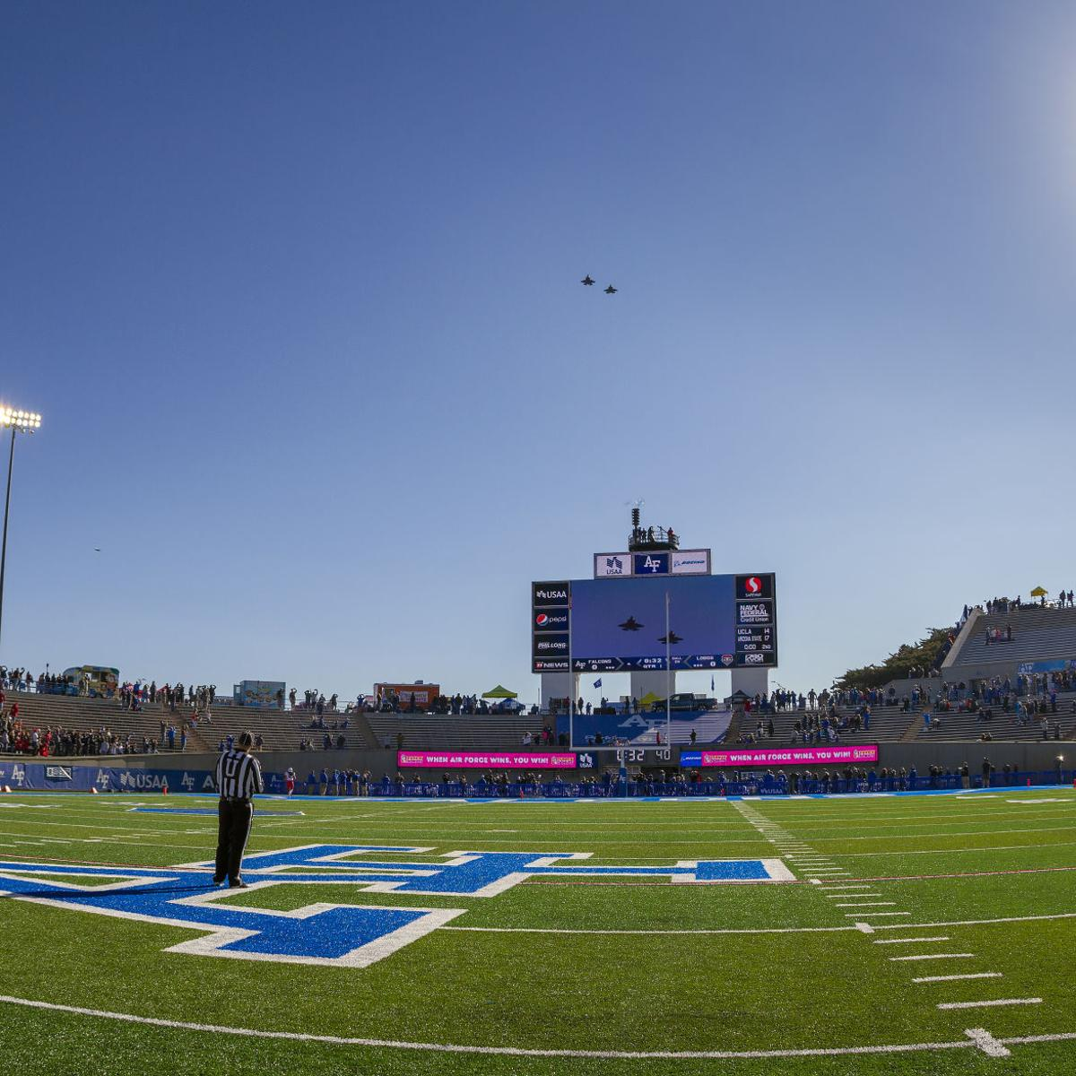 Air Force Football Notes New Beer Options Elevators At Falcon Stadium Sports Coverage Gazette Com