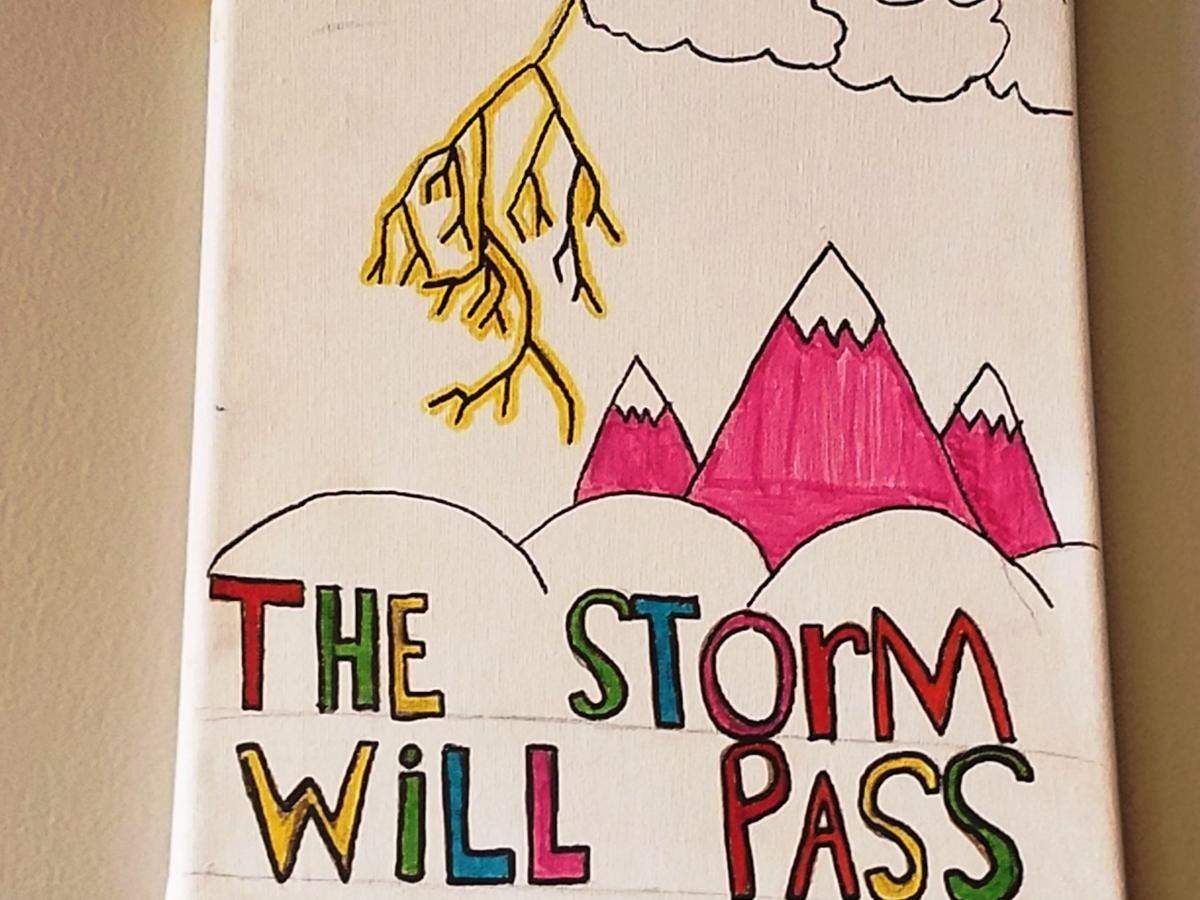 Schools storm will pass