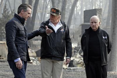Governors Natural Disasters Trump Brown Newsom