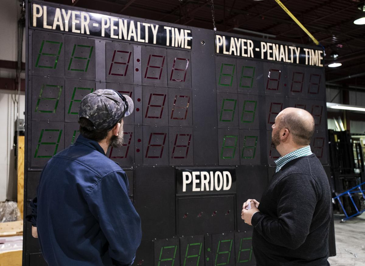 """""""Miracle on Ice"""" scoreboard photo"""