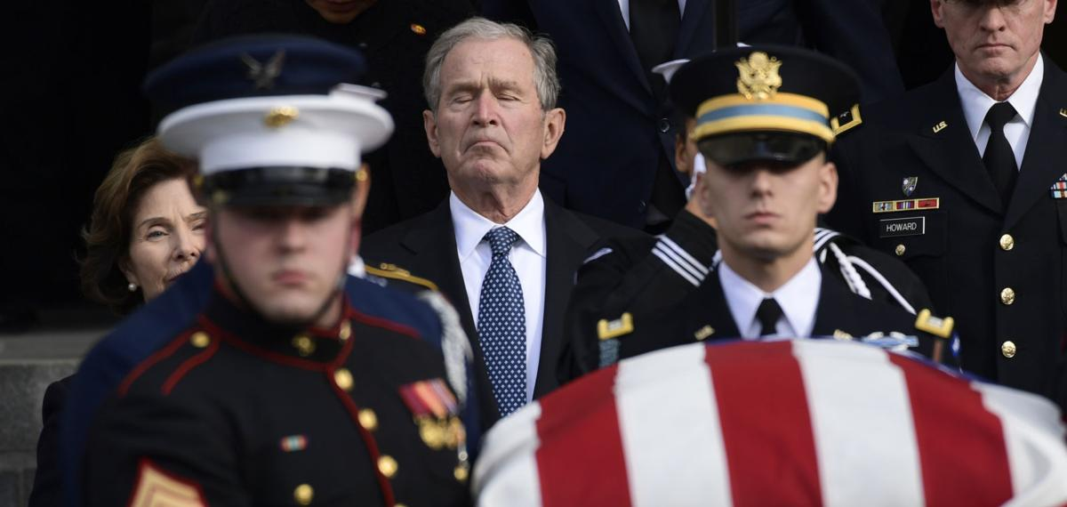 APTOPIX George HW Bush