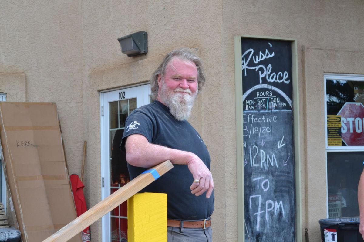 Bob Kerr, owner of Russ' Place in Divide