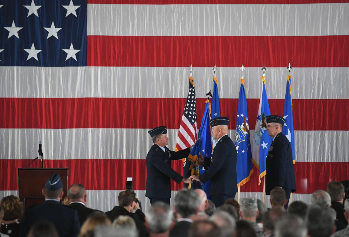 SPACE COMMAND CHANGE OF COMMAND