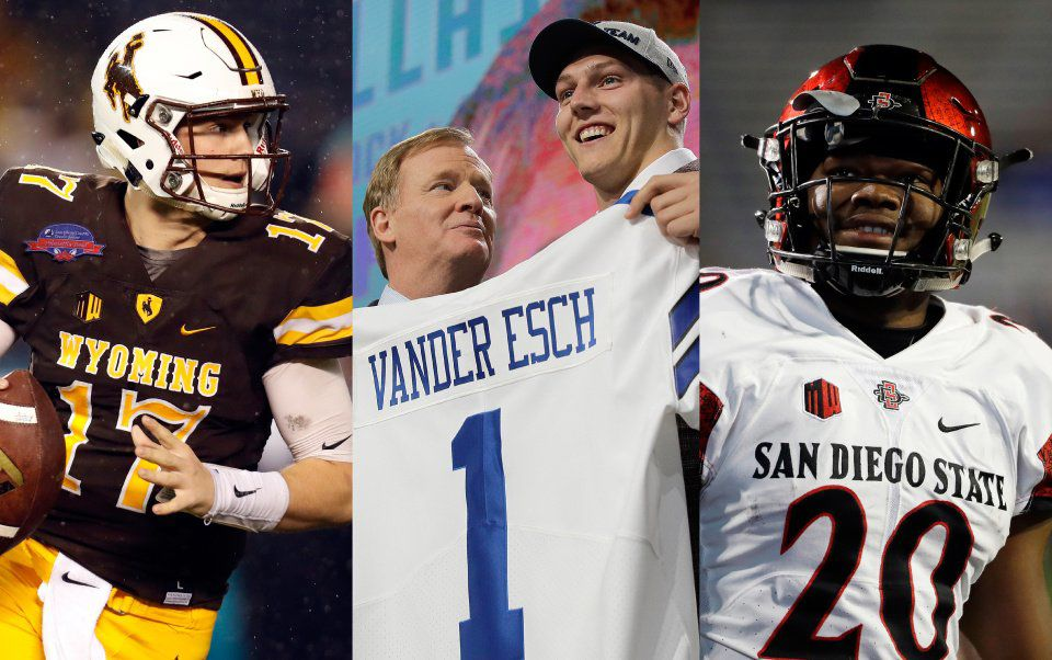 Banner day for Mountain West as three players taken in first round of NFL Draft