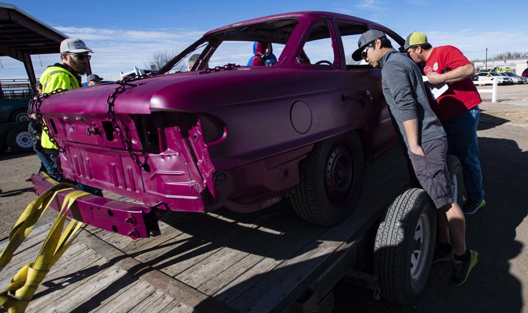 Crash, boom, bam: Demolition derby workshop provides pointers for Colorado Springs-area residents
