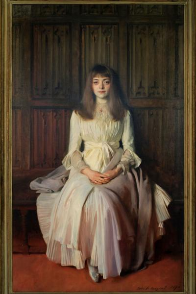 The Young Lady in White