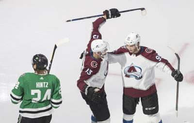 Stars Avalanche Hockey