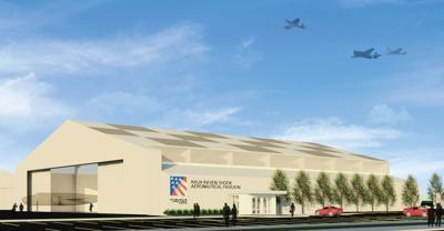 Kaija Raven Shook Aeronautical Pavilion rendering