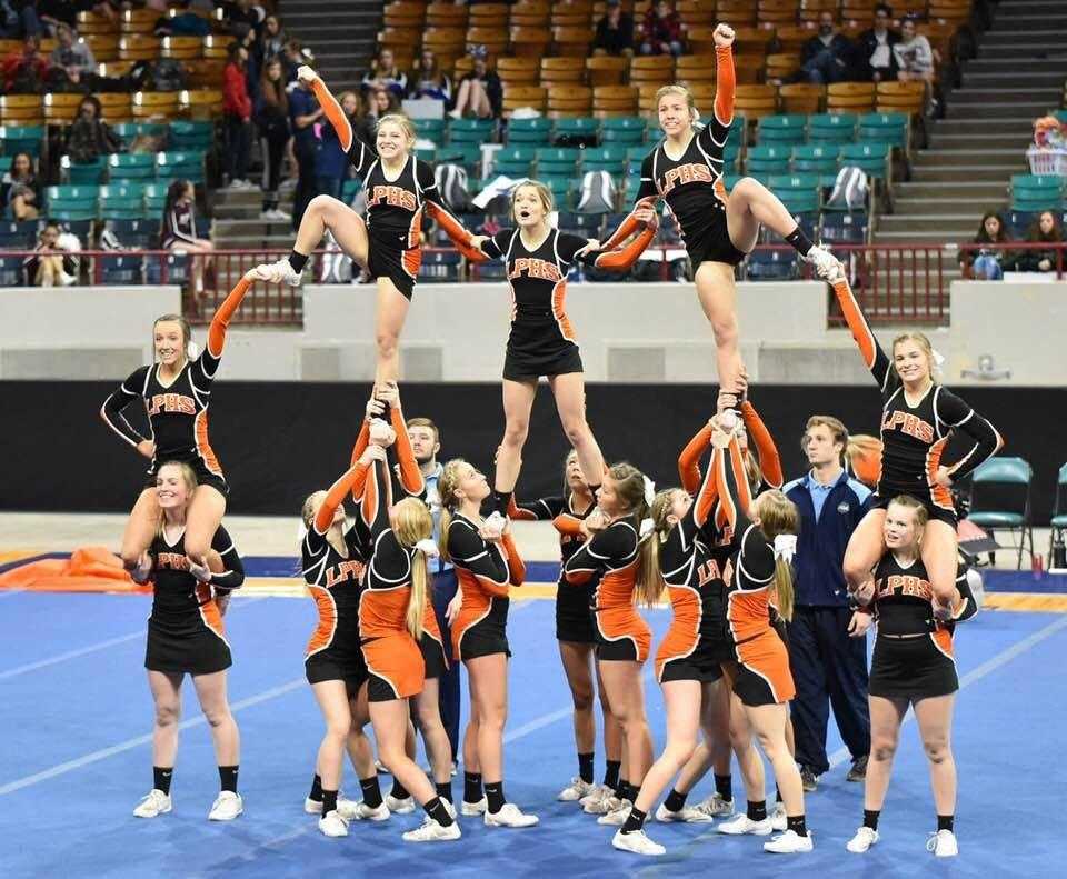 Lewis-Palmer cheer's got spirit, yes they do!