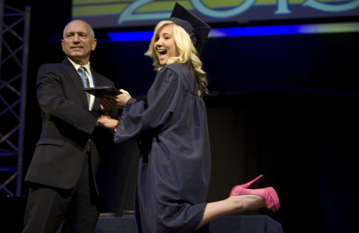 Graduation for the Colorado Springs Christian School on May 23,