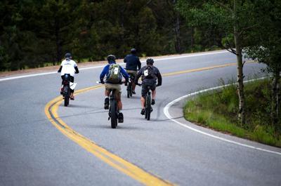 E Bikes on Pikes Peak 02