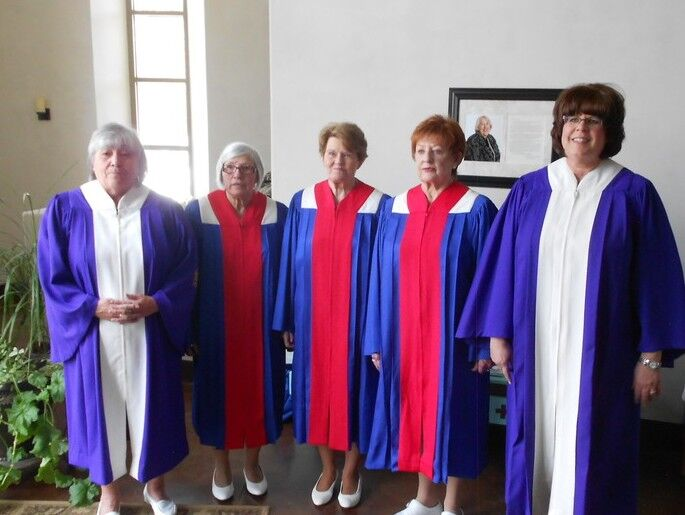 Catholic Daughters court officers installed
