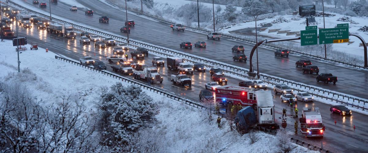Several accidents reported Thursday on I-25 | Colorado Springs News