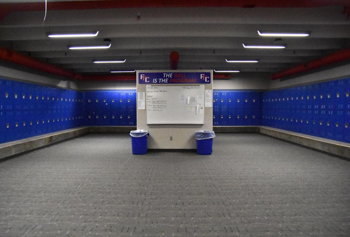 Fountain-Fort Carson locker room