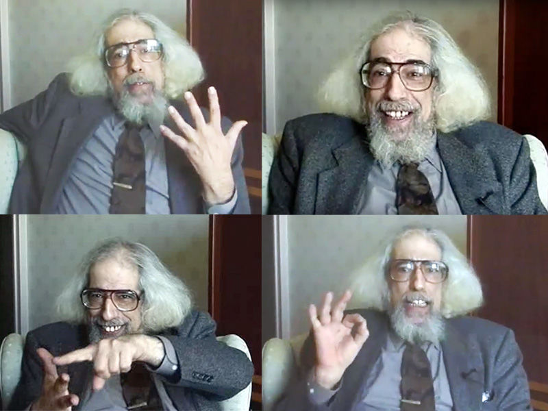 Religious historian Jonathan Z. Smith died on Dec. 30, 2017. Images courtesy of YouTube