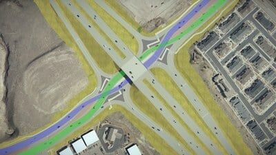 Powers Boulevard and Research Parkway Interchange Design - 2