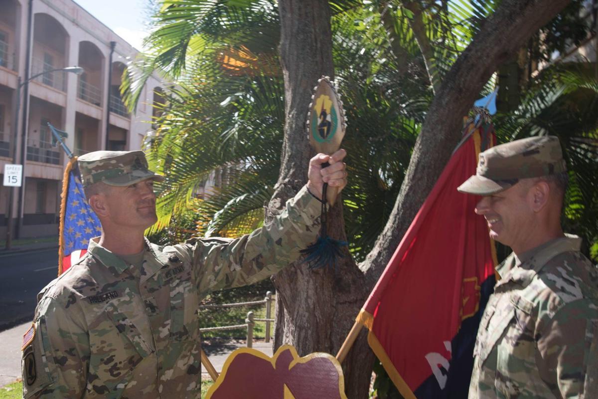 Command Sgt. Maj. T.J. Holland