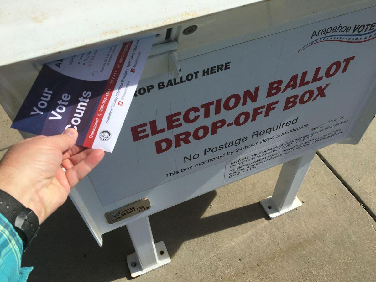 Election drop off box