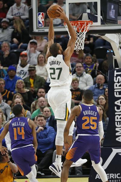 Suns Jazz Basketball Gobert