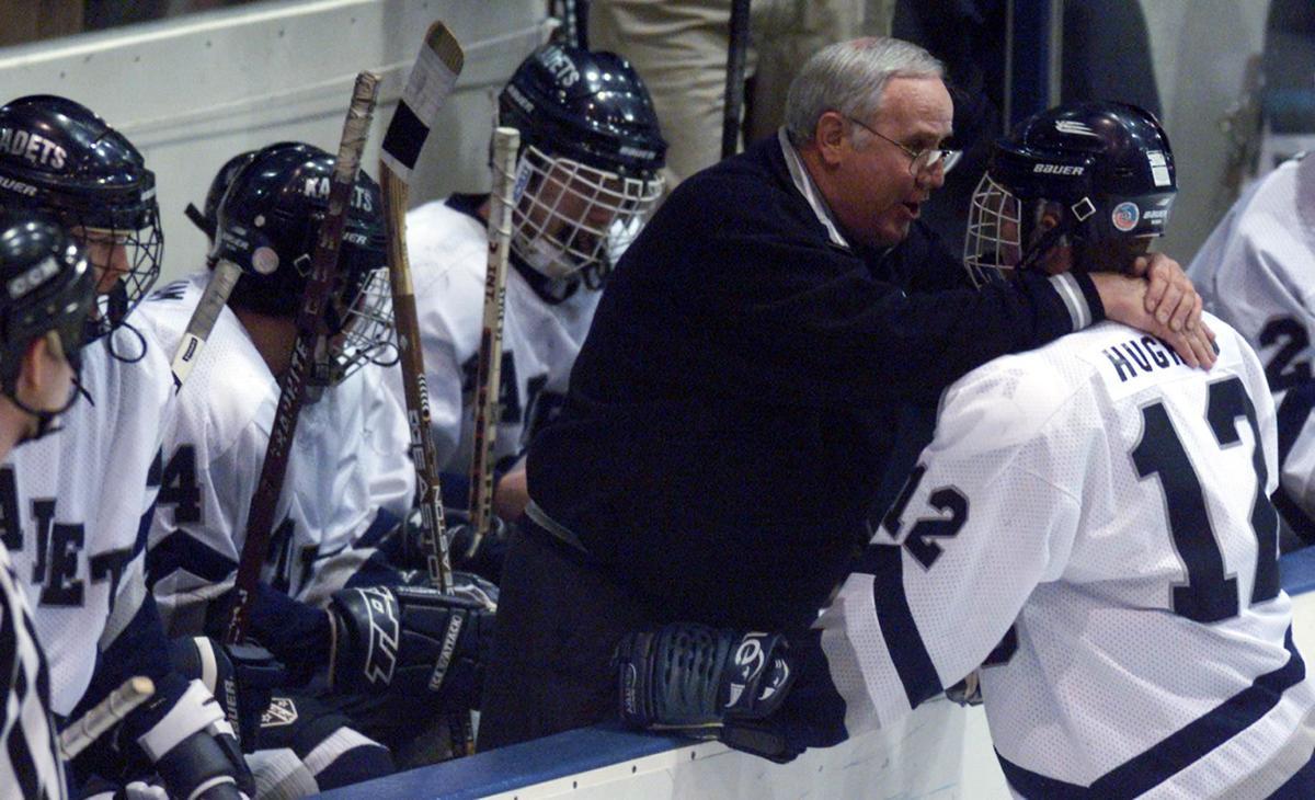 Andrew Marshall, son of Air Academy great, ecstatic to coach Kadets hockey program