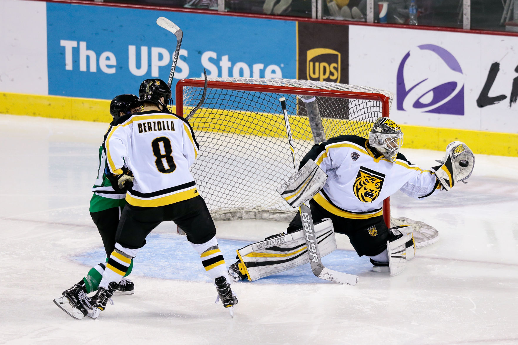 Complete Effort, With Some Striking Saves, Lifts Colorado College Hockey Over Vermont