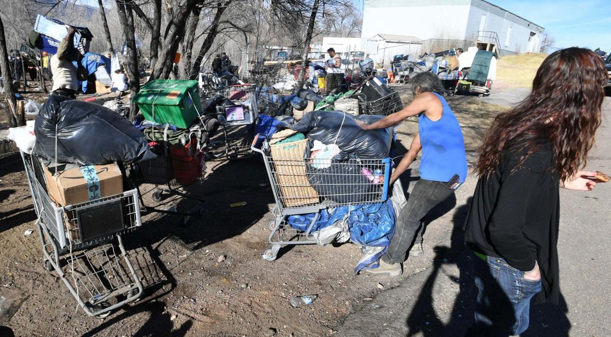 Homeless Camp Bulldozed