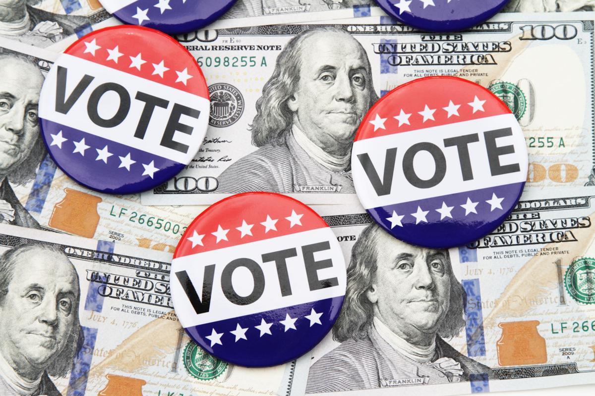 election campaign money cash donations