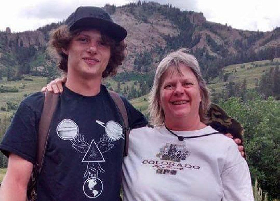Barbara Jean Pepper and her son Chris