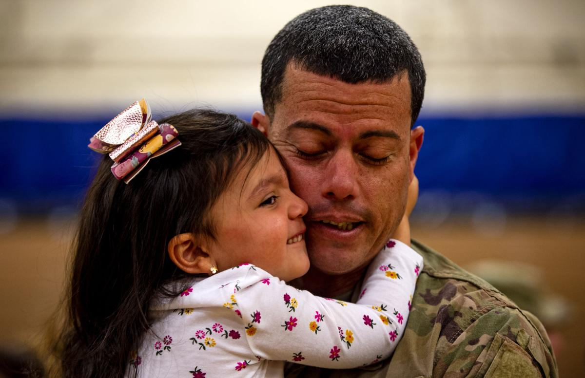 Welcome home, soldiers