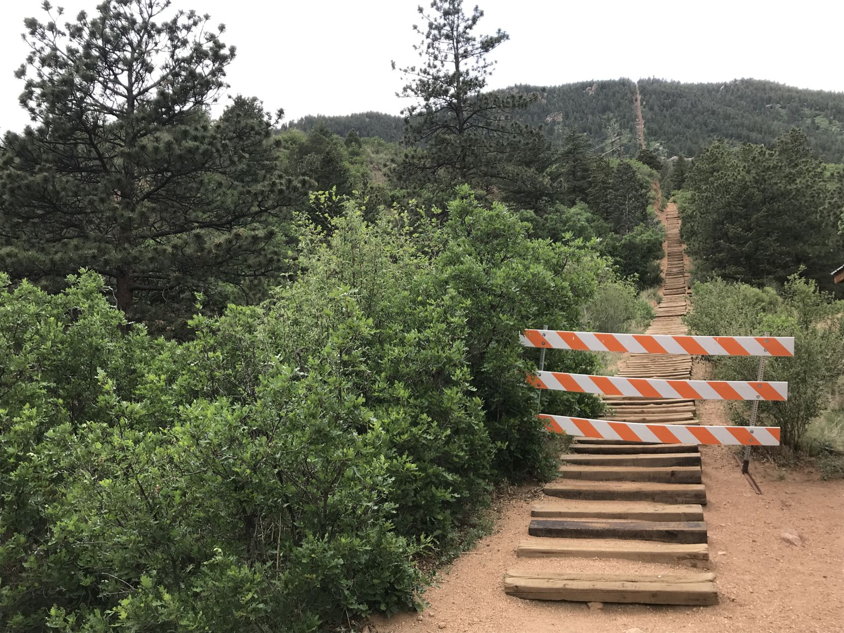 gazette.com - Seth Boster - Manitou Incline's future remains blurry entering 5th month of closure for popular recreation site