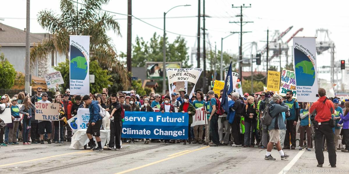 Marchers Stop In Colorado Springs To Tout Climate Change Message