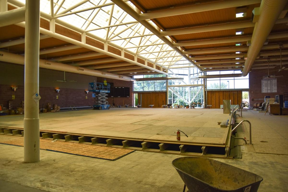 Fountain-Fort Carson pool construction