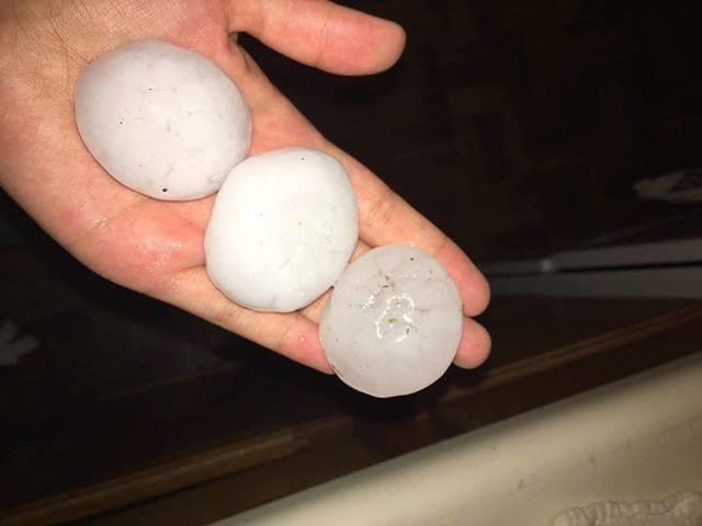 Areas near Colorado Springs see worst overnight hail storm in more than 20 years, according to report