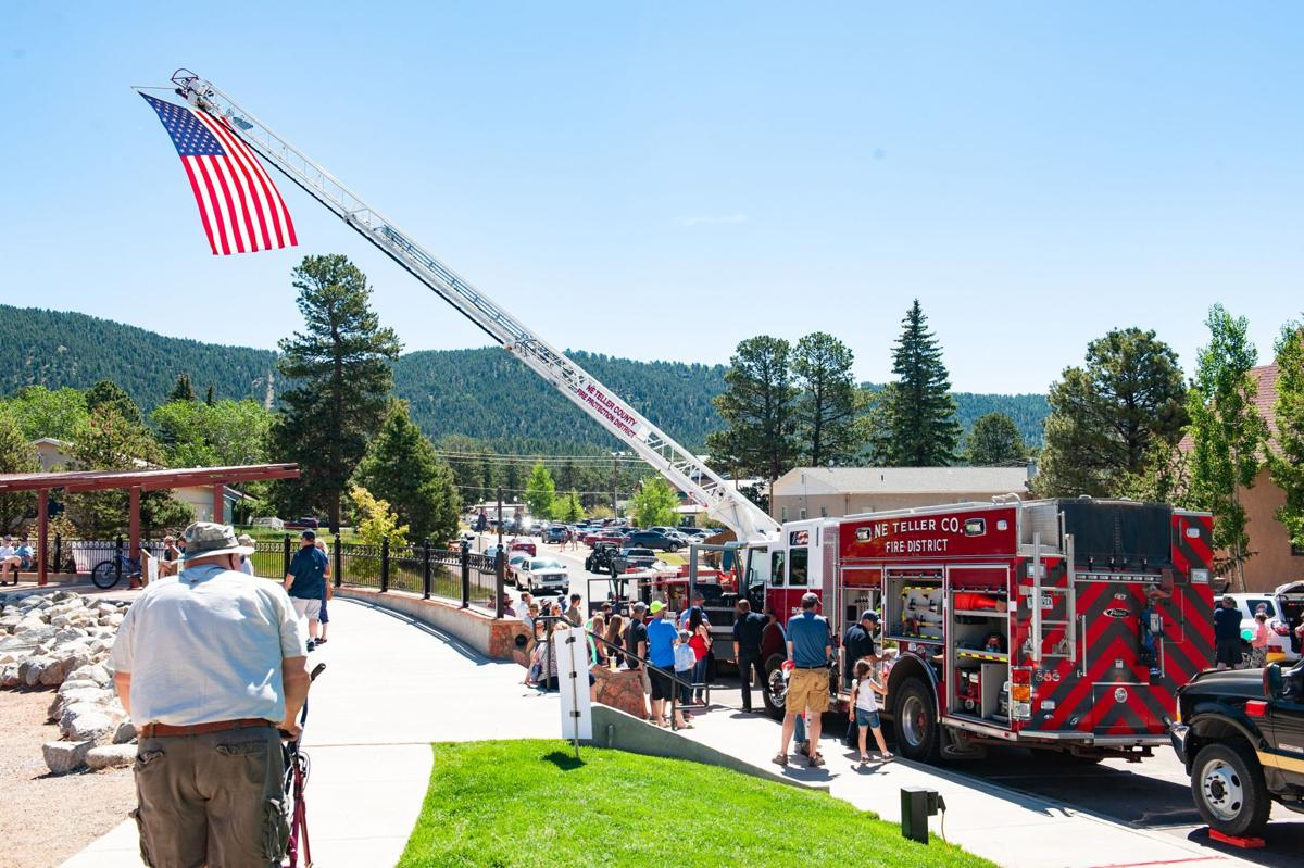 4th of July fanfare in Woodland Park