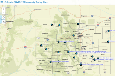 Community Testing Sites in Colorado