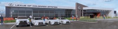 Lexus of Colorado Springs-North Nevada Avenue rendering