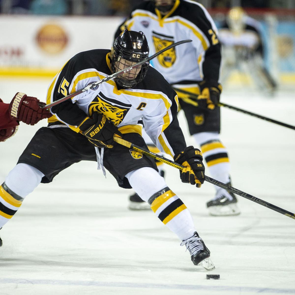 Colorado College hockey downs No  6 Denver, ensures Gold Pan hinges