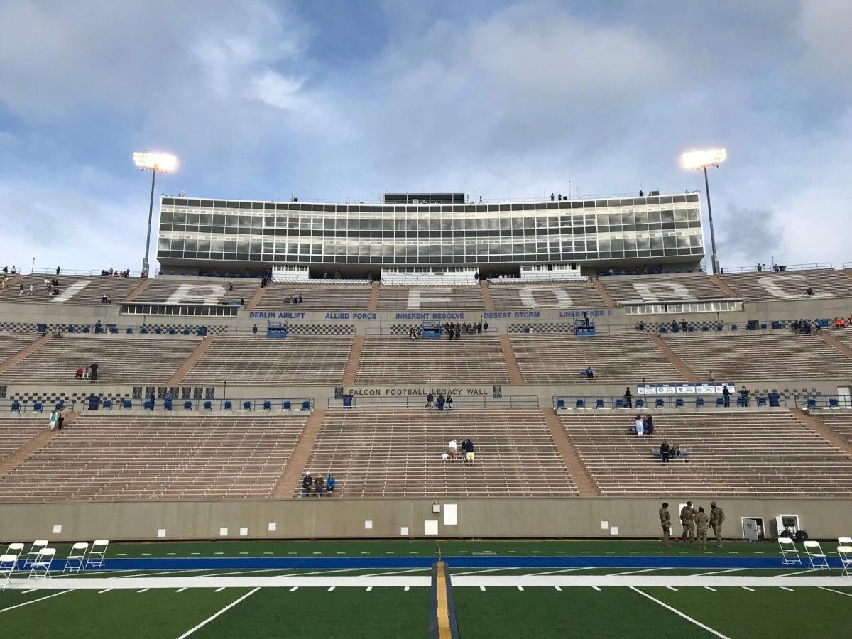 AFA graduation Falcon Stadium