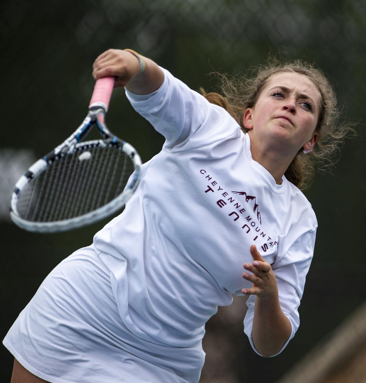 Snapshots: Lady Indians compete in first day of CHSAA girls' state tennis tourney