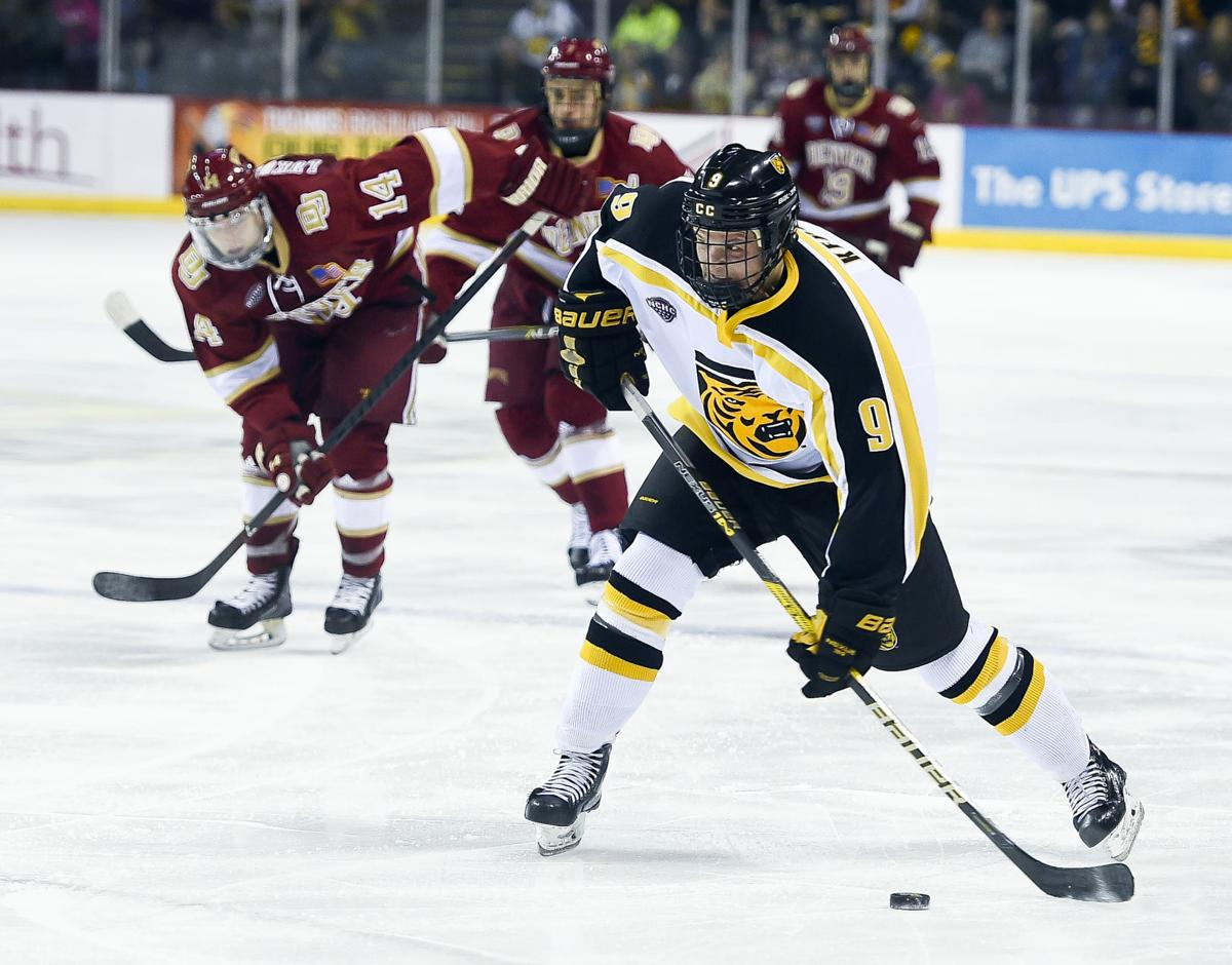 hot sale online bb86d decb4 Colorado College hockey steals Game 1 at defending national ...