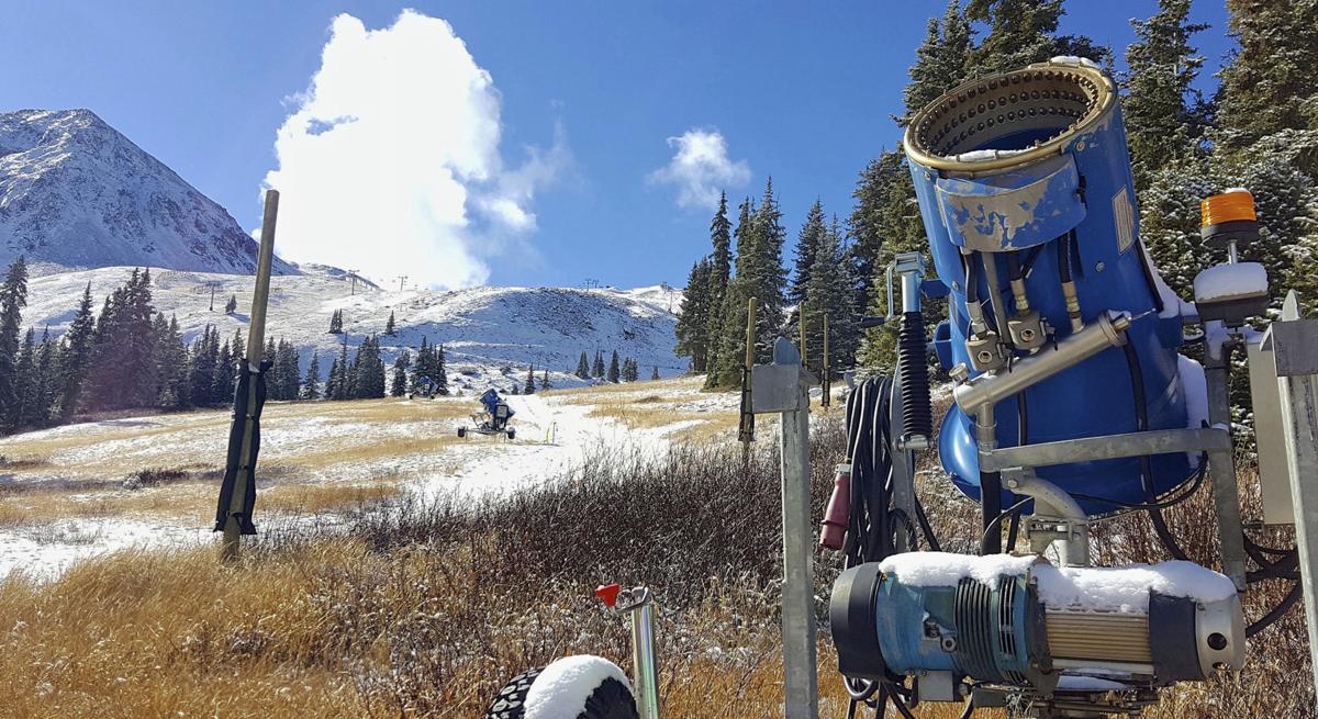 Rocky Mountains Skiing