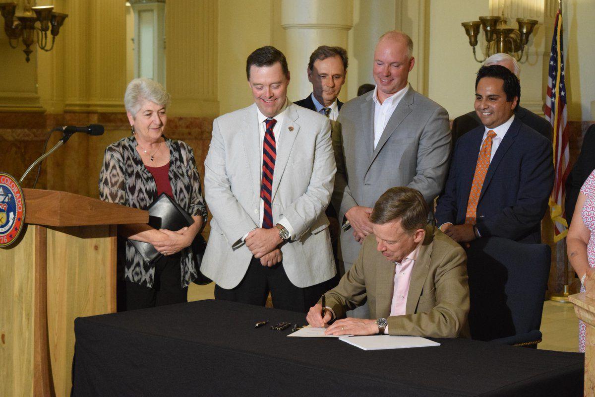 Gov. Hickenlooper signs PERA bill, vetoes pot-product 'tasting rooms'