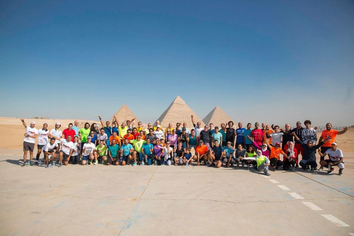 Cheyenne Mountain resident, Boston Marathon champ runs across the desert in Sports Envoy program