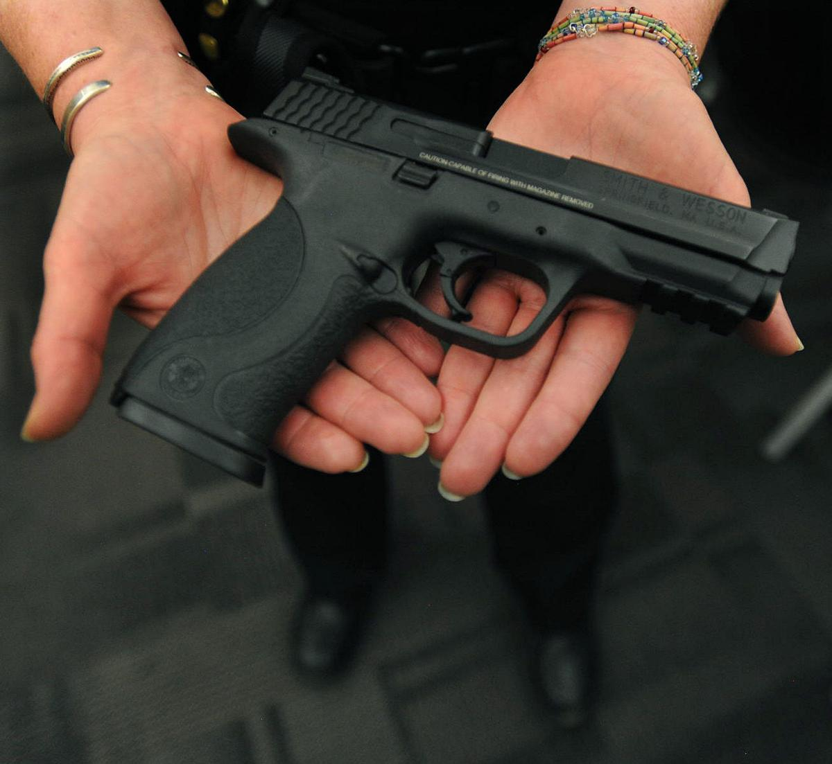 Colorado Springs police trade get new handguns with 'smoother trigger pull'
